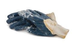 Brudnych robót rękawiczki Zdjęcie Royalty Free