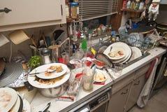 Brudzi naczynia zdjęcie stock