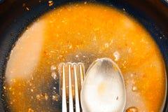 Brudzi półkowego jedzenie Zdjęcia Stock
