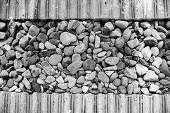 Brudzi skałę Obrazy Stock