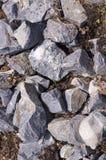 Brudzi skały tło, tekstura natura, winieta Obrazy Royalty Free