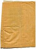 brudzi starego wykresu papier plamiącego drzejącym Obraz Stock