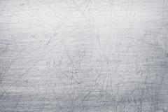 Brudzi szkotowego metalu teksturę, srebnego aluminium lub stali nawierzchniowego patt, obraz stock