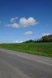 brueil EN δρόμος χωρών vexin Στοκ φωτογραφίες με δικαίωμα ελεύθερης χρήσης