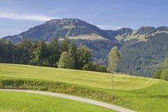 Bruennstein in montagne di Mangfall in Baviera Fotografia Stock Libera da Diritti