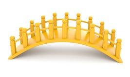 Brug royalty-vrije illustratie