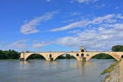 Brug in Avignon Stock Fotografie