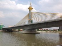 Brug in Bangkok Royalty-vrije Stock Foto
