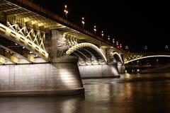 Brug Boedapest Stock Afbeeldingen