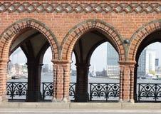 Brug in de stad van Berlijn Royalty-vrije Stock Fotografie