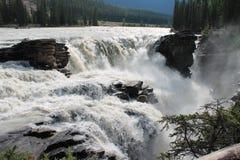 Brug en rivier Stock Afbeelding