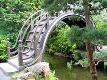 Brug in Japanse Tuin Royalty-vrije Stock Fotografie
