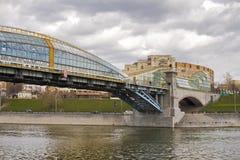 Brug in Moskou Royalty-vrije Stock Foto's