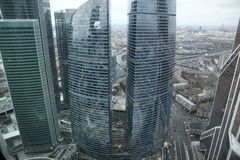 Brug in Moskou Stock Afbeeldingen
