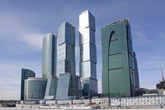 Brug in Moskou stock fotografie
