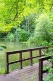 Brug over de rivier Royalty-vrije Stock Fotografie