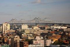 Brug over de Rivier van de Mississippi Stock Afbeeldingen