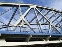 Brug over de Rivier Vistula Stock Afbeeldingen