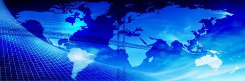 Brug over de Wereld? Royalty-vrije Stock Afbeeldingen