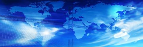 Brug over de Wereld Royalty-vrije Stock Fotografie