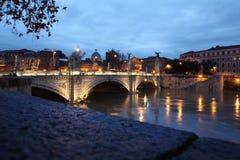 Brug in Rome Royalty-vrije Stock Foto's