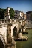 Brug in Rome, Italië Stock Fotografie