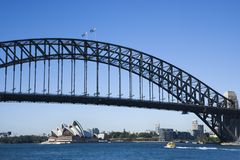 Brug, Sydney Australië. stock foto