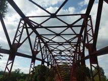 brug in Tegel (Berlijn) royalty-vrije stock foto's