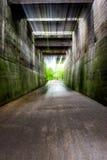 Brug tunel royalty-vrije stock foto