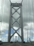 Brug vóór Golden gate bridge in San Francisco Stock Afbeelding