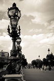 Brug van Alexandre III royalty-vrije stock foto's
