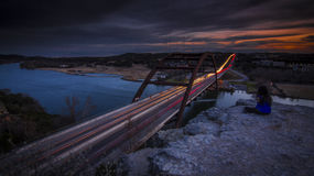 360 brug van Austin, TX Royalty-vrije Stock Fotografie