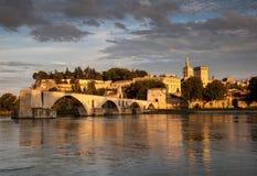 Brug van Avignon stock afbeelding