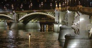 Brug van Boedapest stock video