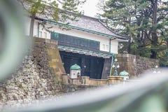 Brug van de het paleissteen van Tokyo de Keizer | Aziatische reis in Japan op 31 Maart, 2017 Stock Afbeelding