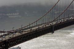Brug van de Poort van San Francisco de Gouden Stock Afbeelding