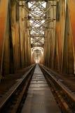 Brug van de spoorweg 8 Stock Afbeelding
