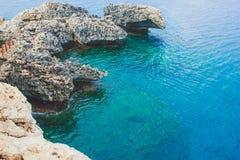 Brug van liefde in Ayia Napa, Cyprus Royalty-vrije Stock Fotografie