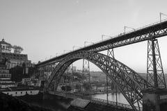 Brug van Ponte Louis I Stock Afbeelding