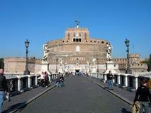 Brug van Sant Angelo Stock Afbeeldingen