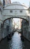 Brug van Sighs, Venetië Stock Foto's