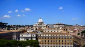 Brug van teken in Rome Italië Royalty-vrije Stock Fotografie