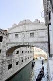 Brug van teken, in Venetië Royalty-vrije Stock Foto