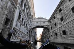 Brug van teken, in Venetië Italië Royalty-vrije Stock Afbeelding