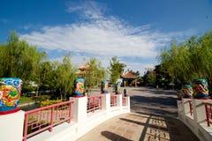Brug van tempel Stock Afbeeldingen