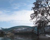 Brug van Vrede in Tbilisi Royalty-vrije Stock Foto's