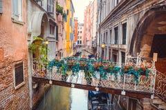Brug in Venetië Royalty-vrije Stock Fotografie