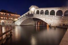 Brug Venetië - Rialto Royalty-vrije Stock Foto's