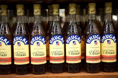 Brugal dominican rum. The world famous rums of the Dominican Republic are known as the 3 Bs, for Brugal, Barcelo, and Bermudez. Unlike most other rums Royalty Free Stock Photos