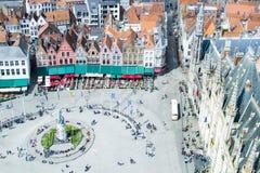 Bruge/Brugges, alte Stadt in Belgien Stockbild